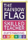 Rainbow Flag Skilled Teacher